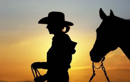 Best Showcase Of Silhouette Photography… | Cowgirl Silhouette Photo