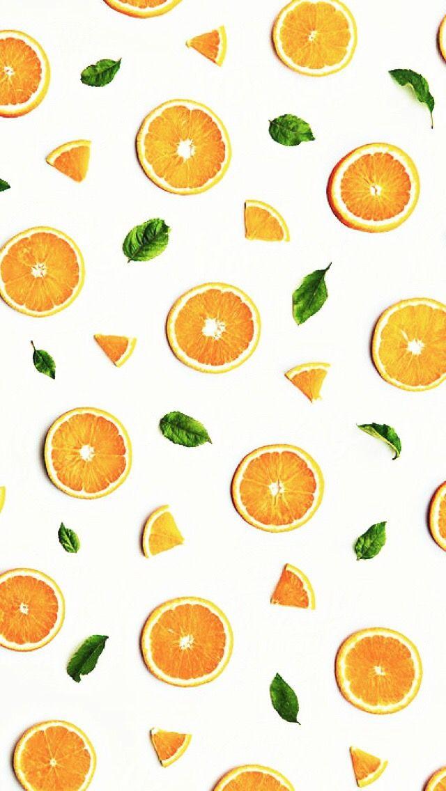 Wallpaper Iphone Fruit Wallpaper Fruit Wallpaper Photography Orange Background
