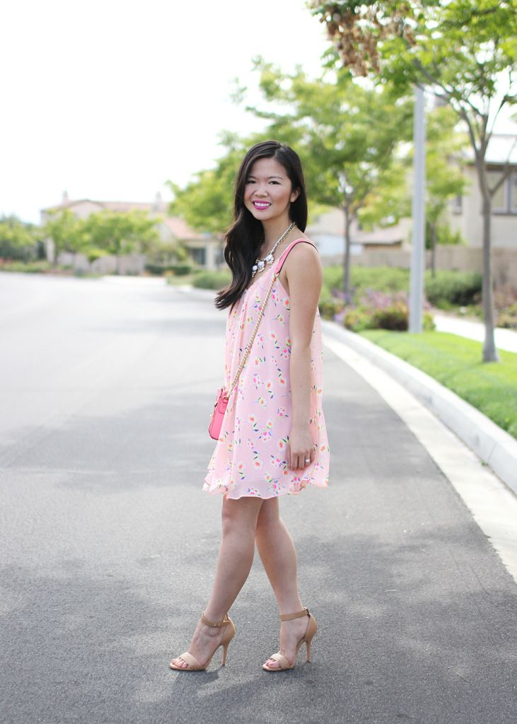 Skirt The Rules // Floral Trapeze Summer Dress