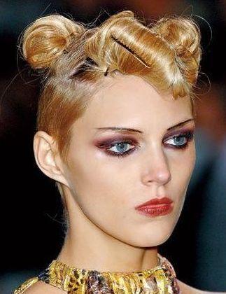 Podium hairstyles 2014