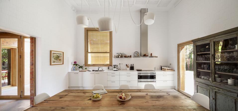 Livingcucina Un Gusto Tra Il Vintage E Il Moderno In Cucina E Evidente Il Contrasto Case Contemporanee Progettazione Di Una Cucina Moderna Idee Per Interni
