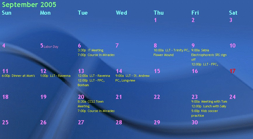 Active Desktop Calendar Windows 7 07 http