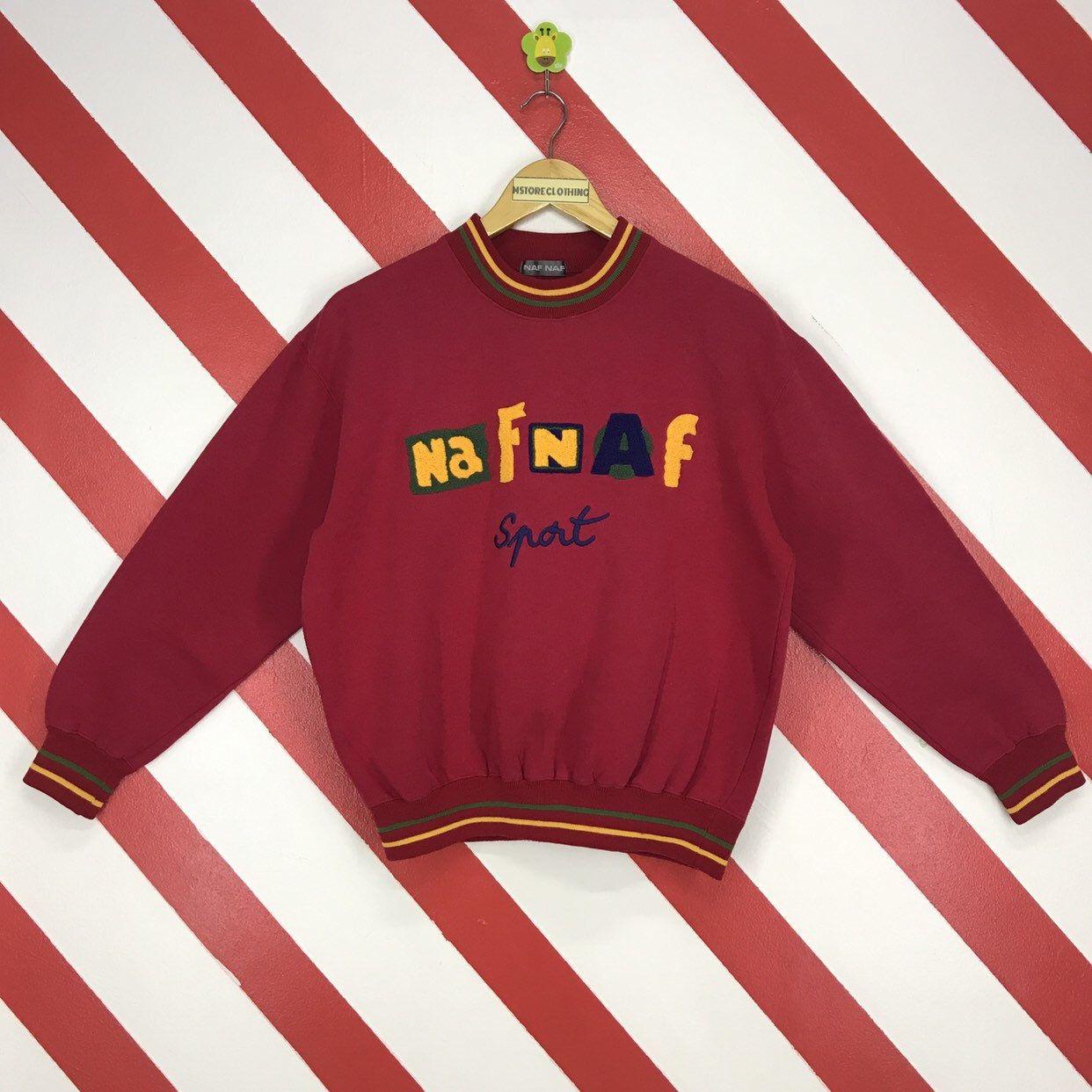 Excited To Share This Item From My Etsy Shop Vintage 90s Naf Naf Sweatshirt Crewneck Naf Naf Streetwear Sweate Crewneck Streetwear Sweatshirts 90s Sportswear [ 1242 x 1242 Pixel ]