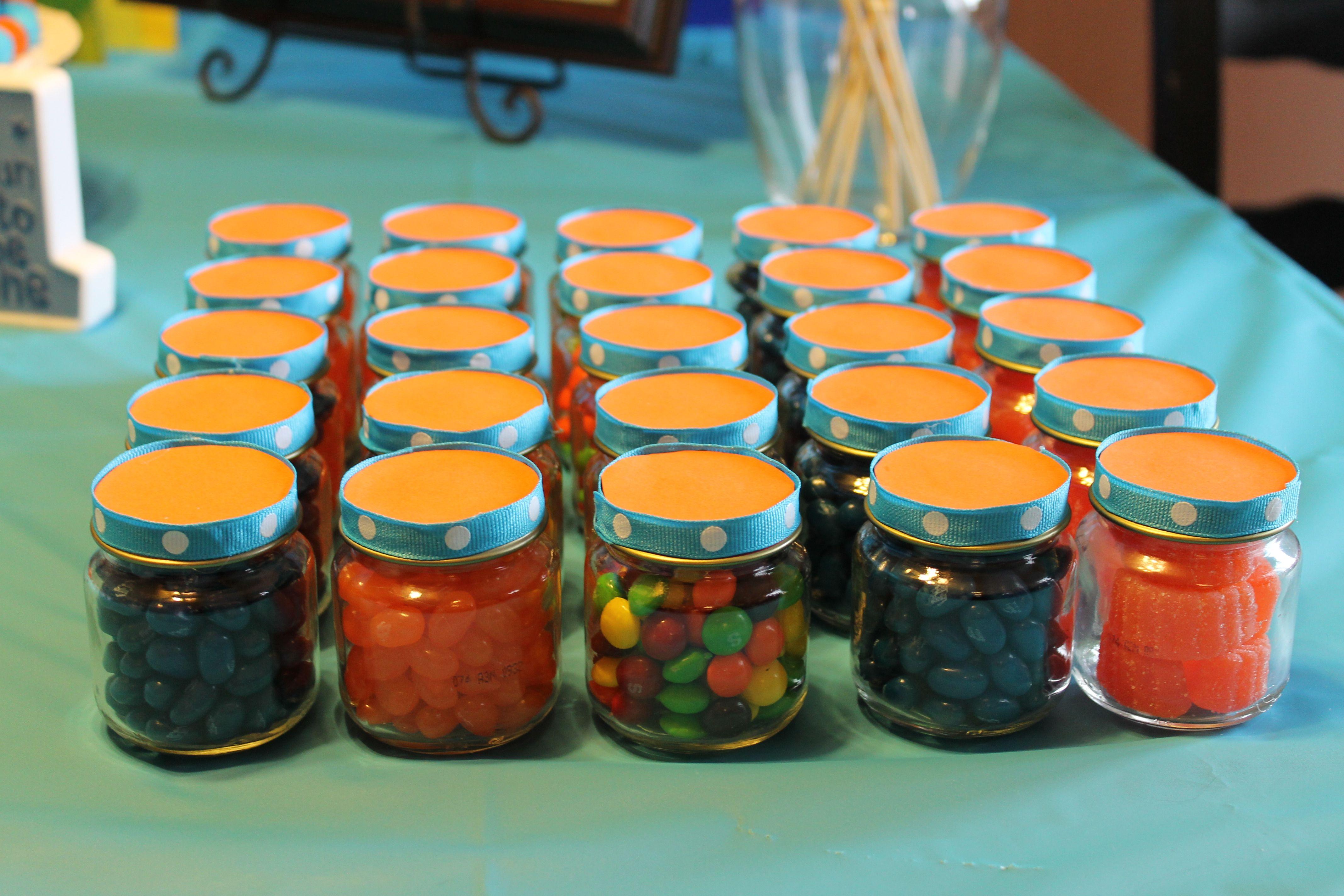 Baby Food Jar Party Favors Masa