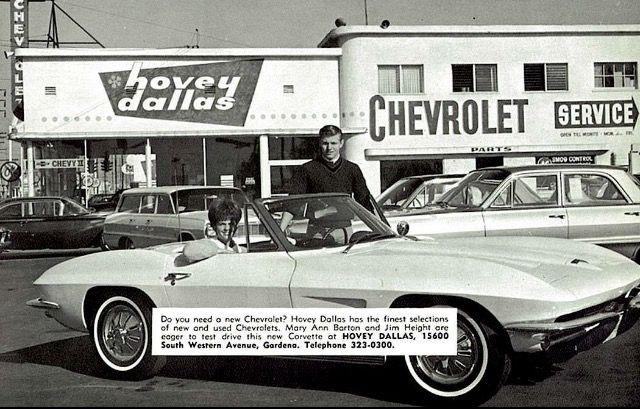 Hovey Dallas Vintage Corvette Corvette Old Corvette