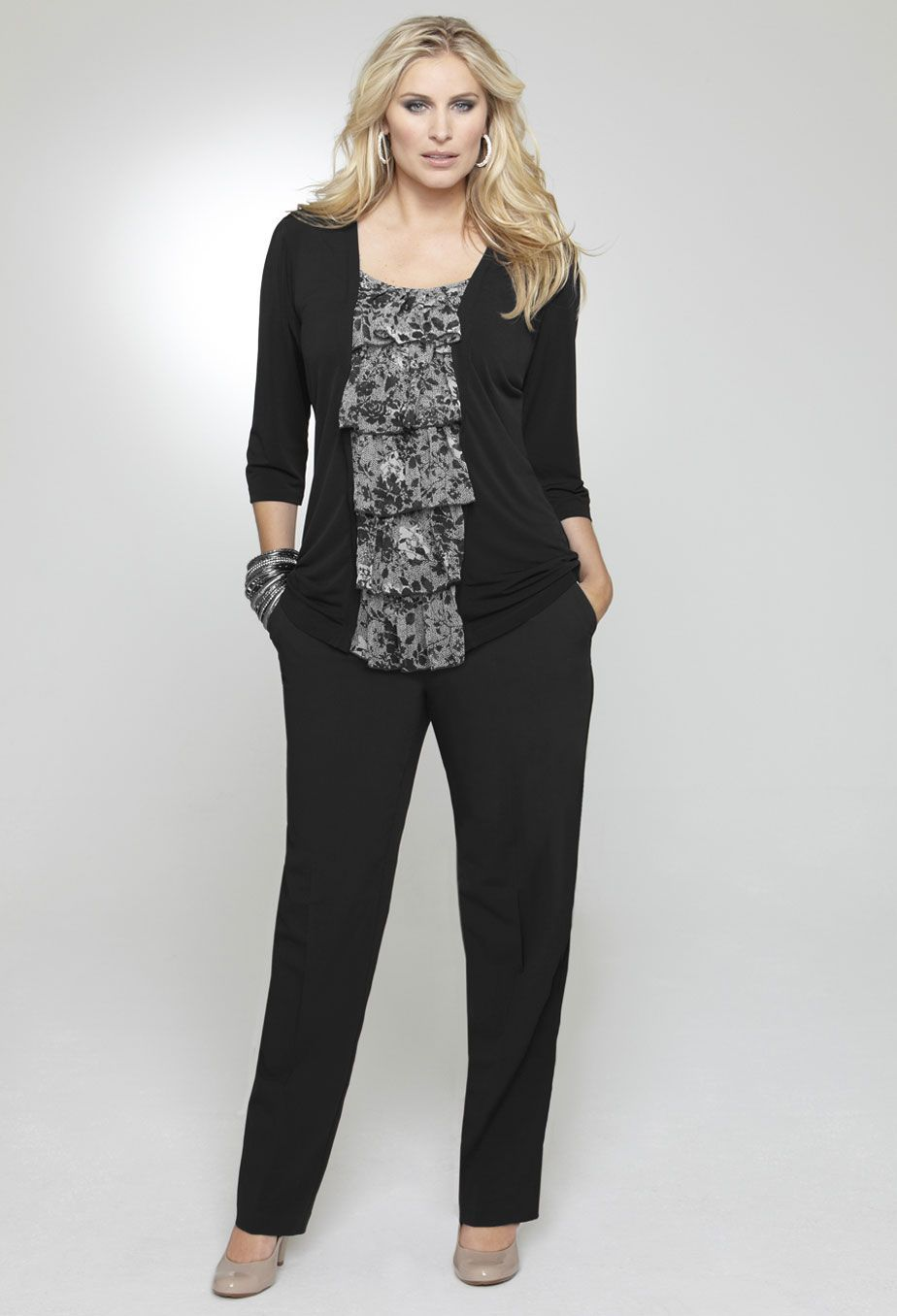 Plus Size Interview Outfits, Business Casual