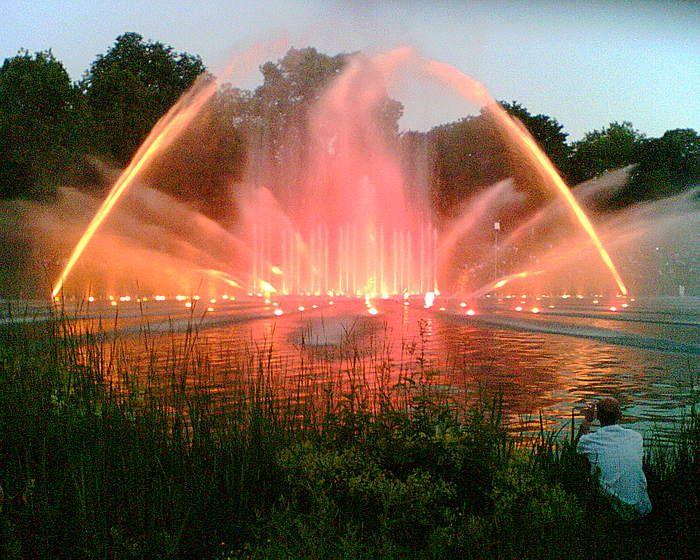 Wasserspiele in Planten un Blomen | Hamburg, Weltreise