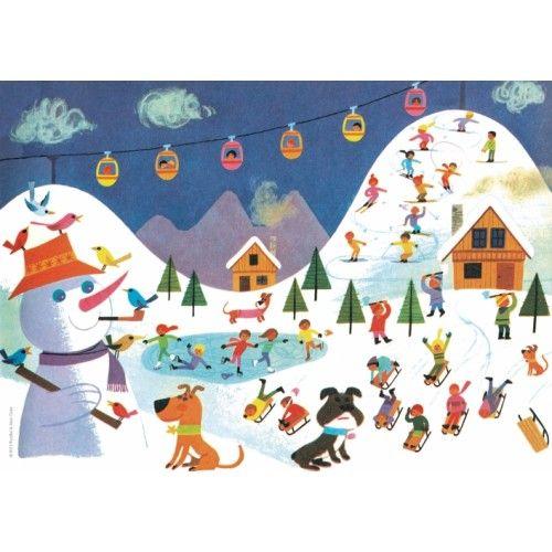 Alain Grée poster winter 29.7 x 21 cm