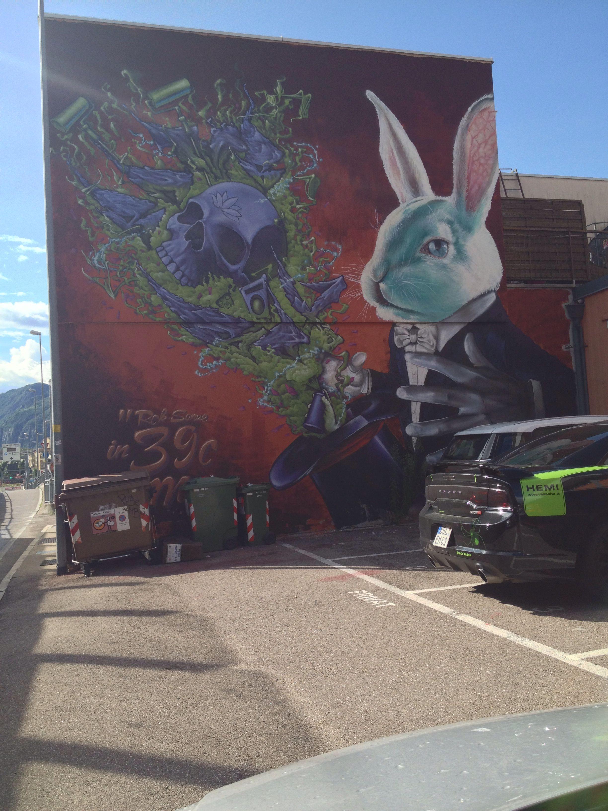 Street art Bolzano
