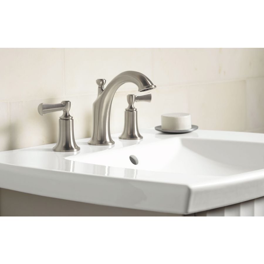 Kohler Elliston Vibrant Brushed Nickel 2 Handle