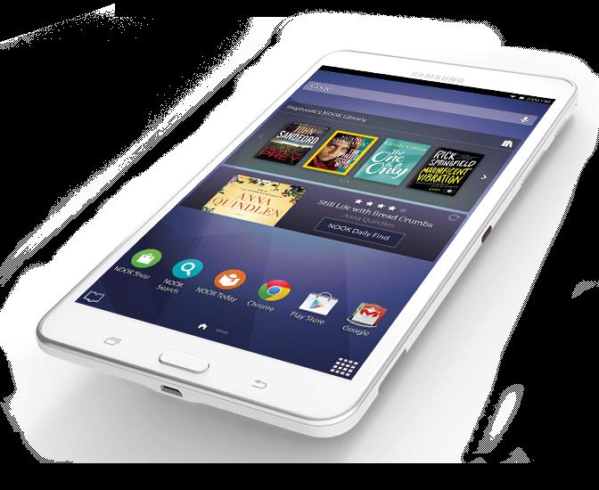 Samsung Galaxy Tab 4 Nook 7 Inch Tablet Barnes Noble Samsung