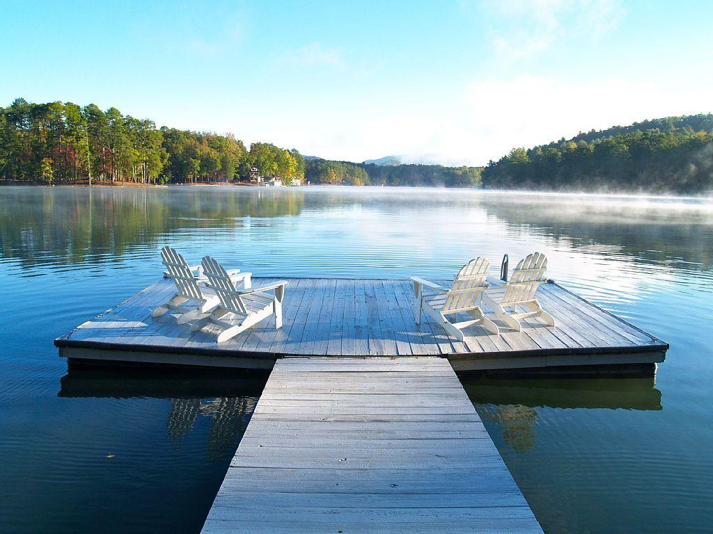 lake burton rentals with boat