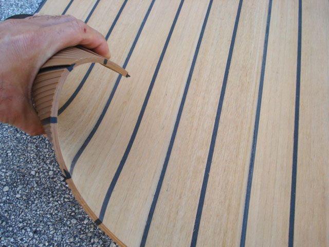 synthetic composite boat decking teak, pontoon boat pvc foam ...