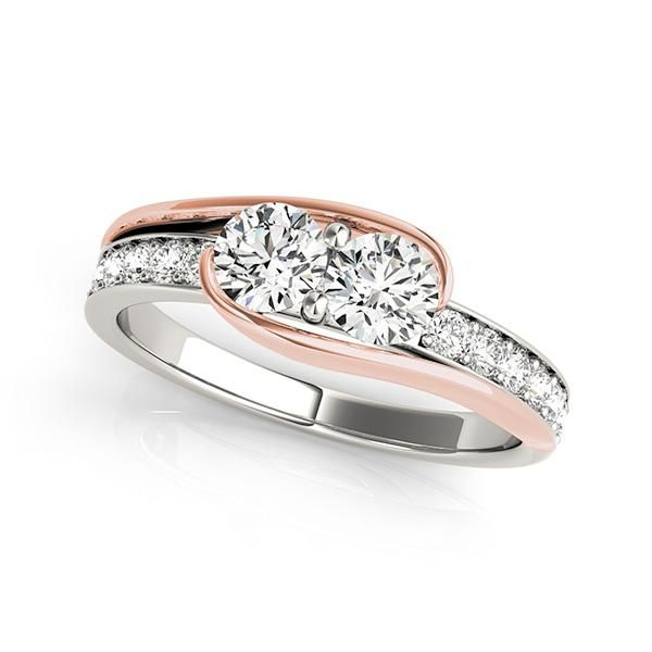155 best 2 Stone Rings images on Pinterest | Stone rings, Diamond ...