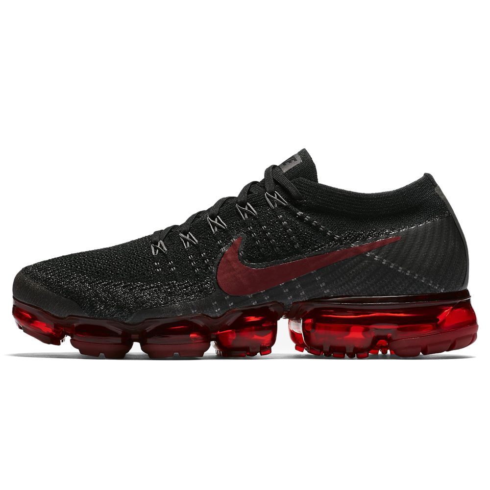new style 7ed50 96aab Nike Air Vapormax Flyknit (849558-013) Black Varsity Red Bred USD 240 HKD