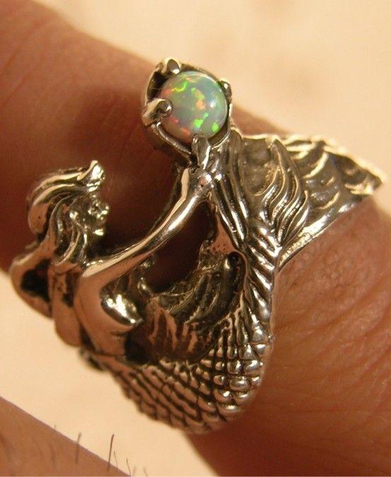 Best 25 Mermaid Ring Ideas On Pinterest Jewelry Indie