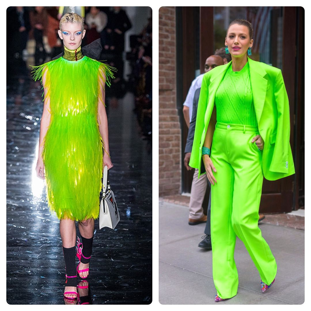 зеленый цвет в моде