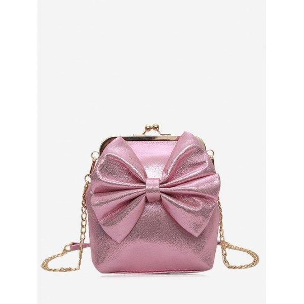 ade39f70fe Rosewholesale -  Rosewholesale Bow Chain Crossbody Bag - AdoreWe.com ...