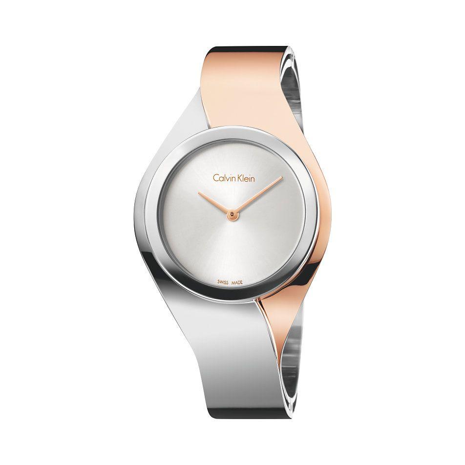 Calvin Klein Damenuhr Senses K5n21z6 Modische Armbanduhren Uhren Und Damenuhren