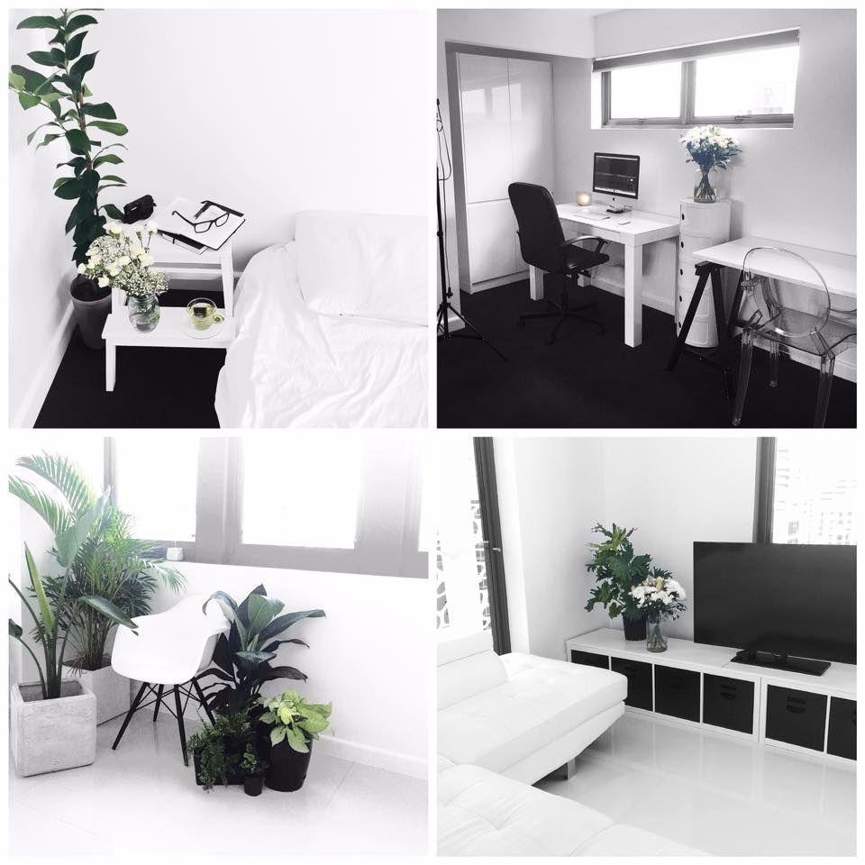 Bedroom Ideas Minimalist Bedroom Hanging Cabinet Design Gaming Bedroom Design Ideas Cute Black And White Bedroom Ideas: Rachel Aust Repost