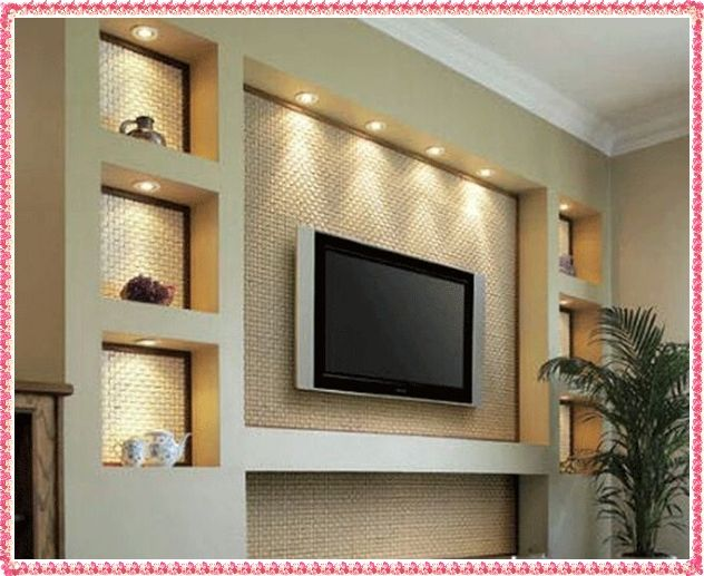 Gypsum Decorating Ideas 2016 Drywall Wall Unit Designs Jpg 632 517 Modern Living Room Wall Tv Wall Design Living Room Entertainment Center
