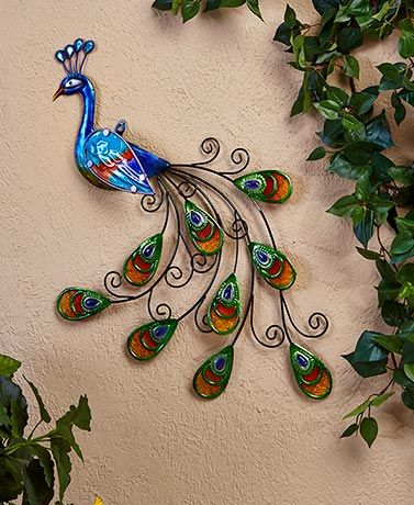 Superb Peacock Garden Decor