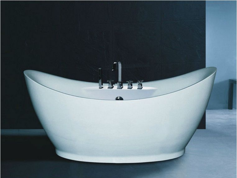 B540 Special design soaking bath tub/deep bath tub white color ...