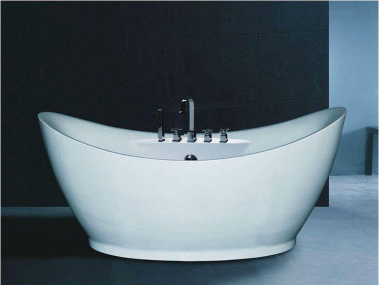 B540 Special Design Soaking Bath Tub/deep Bath Tub White Color Bathtub  Freestanding Massage Bathtub
