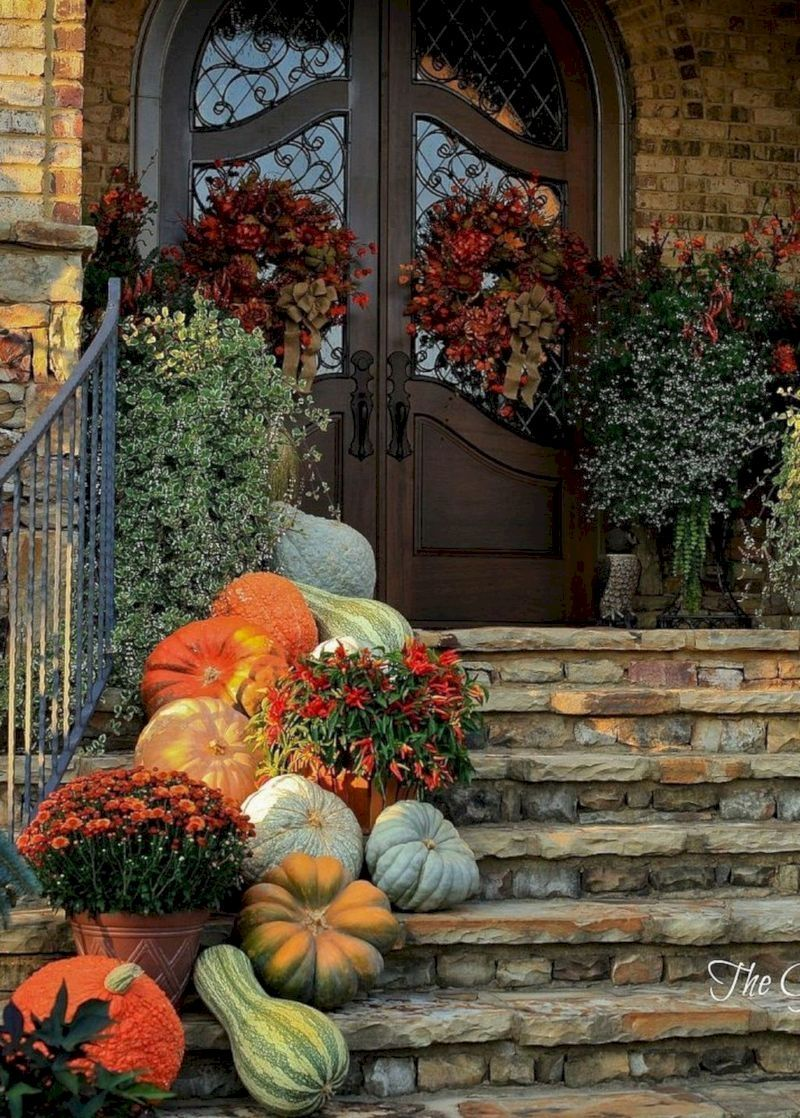 25 Best Fall Decoration in the Porch #fallfrontporchdecor
