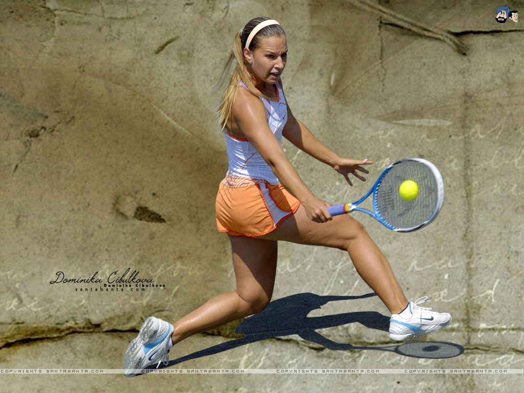 Dominika Cibulkova 1024x768 Wallpaper 6 Hotties Dominika
