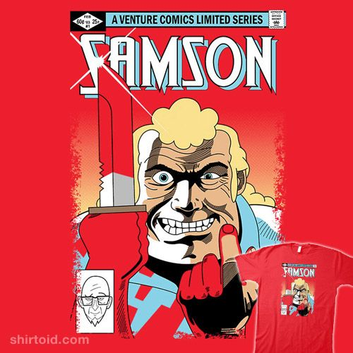 Samson 1 Cartoon Tv Comics Comic Book Heroes