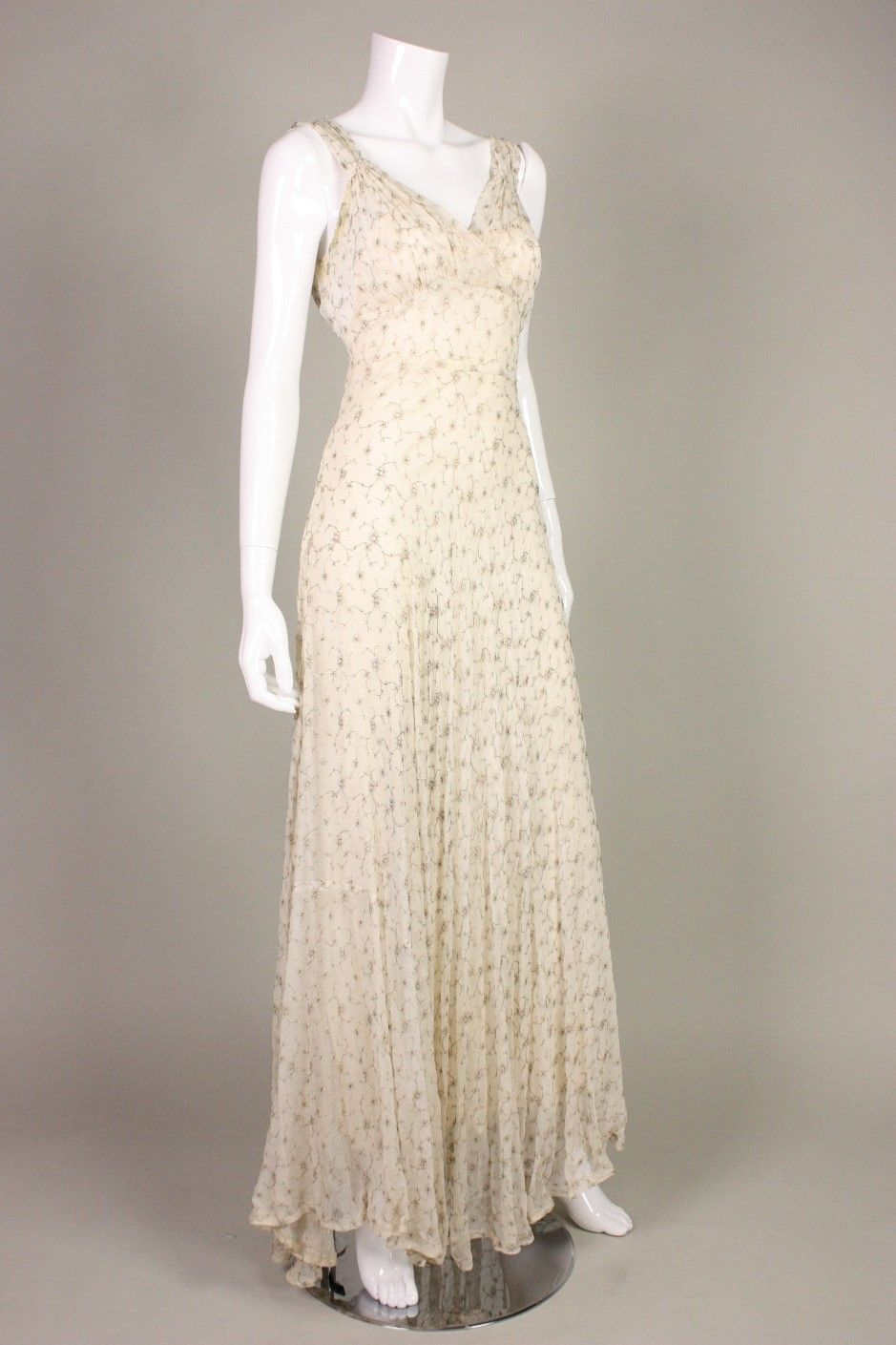 Gold embroidered chiffon gown s chiffon gown gowns and gold