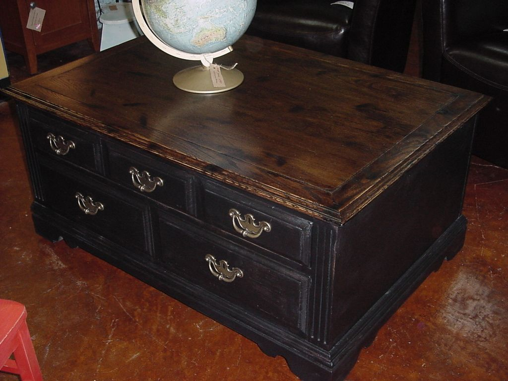 BROYHILL Coffee Table AFTER | Just Fine Tables