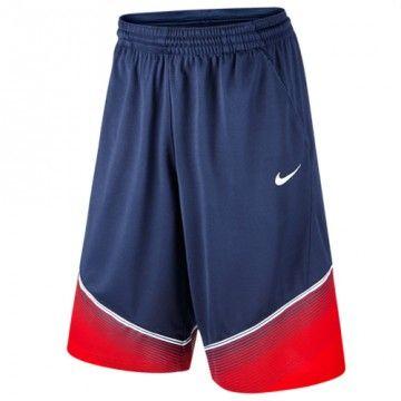 Achetez le short de basket TEAM USA 2014 marine Nike