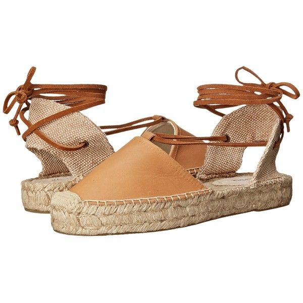 Soludos Platform Gladiator Sandal Leather Women's Sandals ($89) ❤ liked on  Polyvore featuring shoes