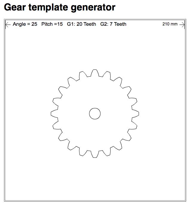 design custom gears with gear template generator app diy