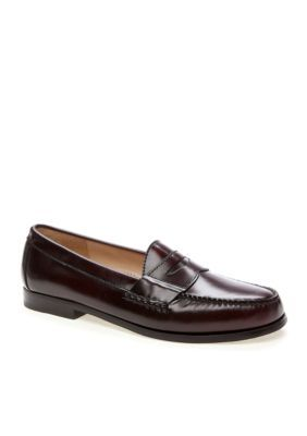 b058a33078e Cole Haan Men s Pinch Penny Casual Slip-On-Extended Sizes Available -  Burgandy - 10.5M