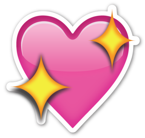 Sparkling Heart Emojistickers Com Heart Emoji Emoji Stickers Emoji