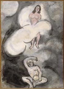 Creation of Eve - Marc Chagall 1931