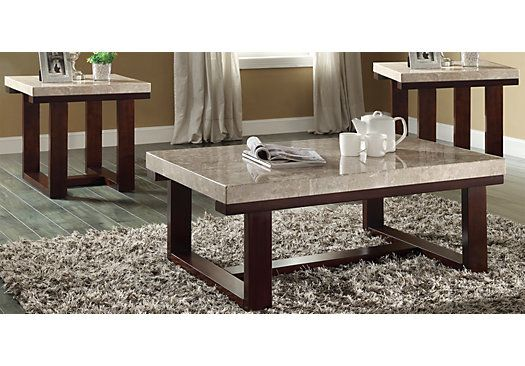 Shop For A Caleb 3 Pc Table Set At Rooms To Go Find Sets