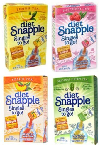 Diet Snapple Singles To Go Variety Variety Details Can Be Found By Clicking On The Image Note It S An Affiliate Link T Diet Snapple Snapple Flavored Tea