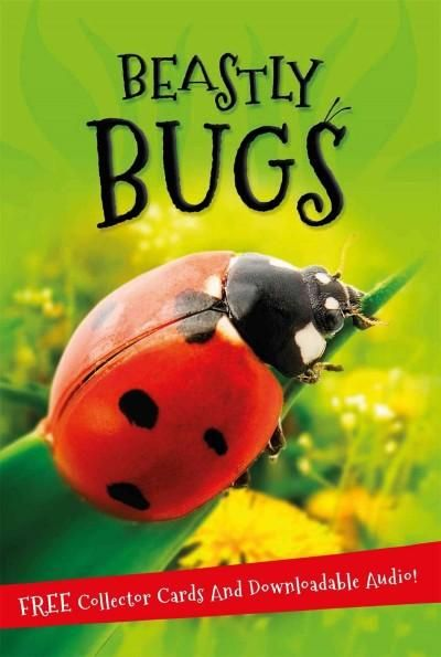 Beastly Bugs tells you everything you want to know about the world of minibeasts, from insects such as ants, wasps, butterflies and beetles to creepy crawlies such as spiders, woodlice and centipedes.