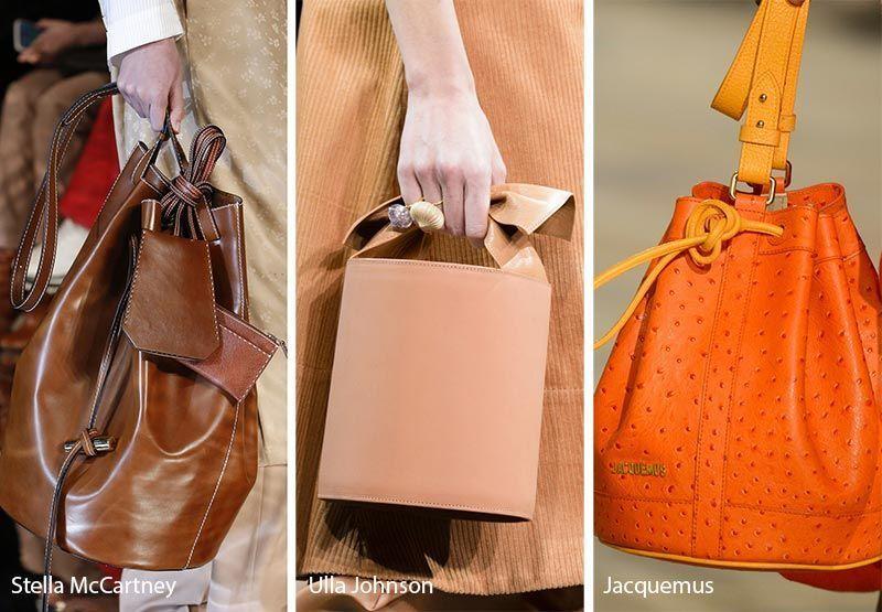 Fall Winter 2018 2019 Handbag Trends Bucket Bags Purses Handbagtrends Trending Handbag Fall Handbags Fall Handbag Trends