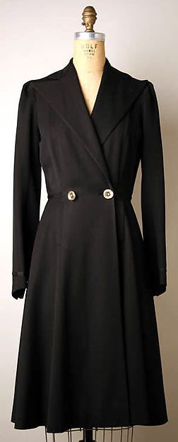 Coat by Maggy Rouff, ca. 1938