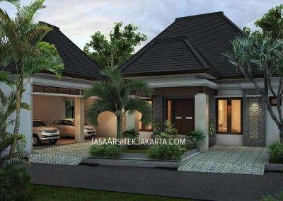 desain rumah 4 kamar luas 330 m2   home fashion, desain