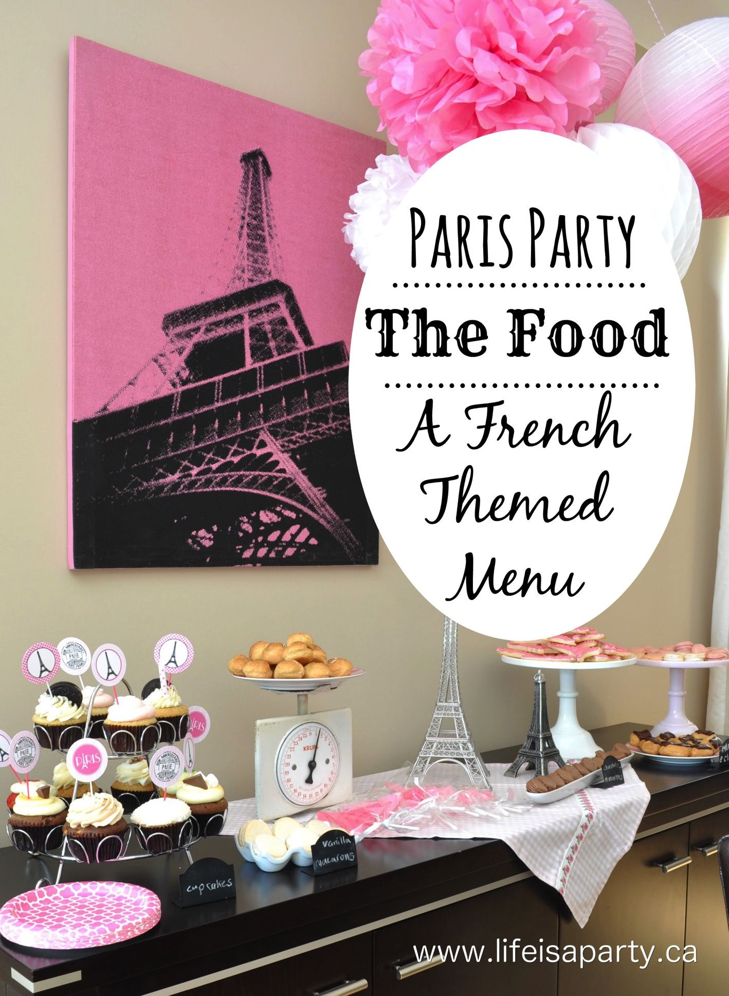 Beautiful French Bistro Party Ideas