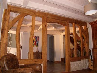 colombage intérieur maison Pinterest