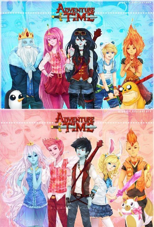 At Gender Bend Adventure Time Anime Adventure Time