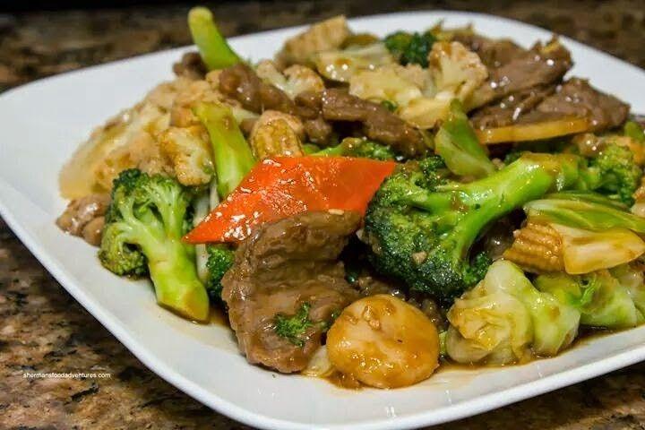 pindaisy pena on delicioso  broccoli beef beef food