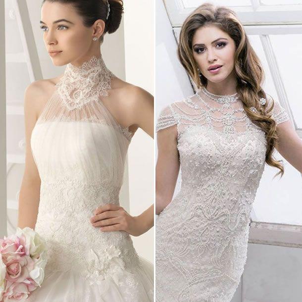 vestido de novia de cuello alto | bridal styling en 2019 | pinterest